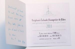 carte de voeux avocat a la cour et illustration