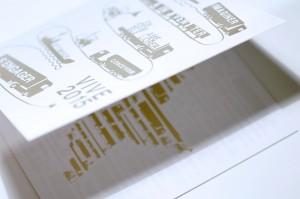 création et réalisation carte de voeux print et numerique gif