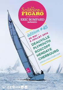 Création et réalisation de propositions d'affiches pour la Solitaire du Figaro